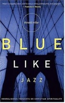 Blue like jazz book cover