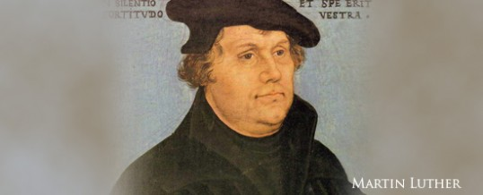 Happy Reformation Day! October 31st