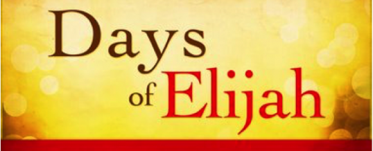 The Days of Moses, Elijah, and Jesus